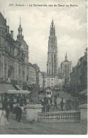 Antwerpen Anvers - La Cathédrale, Vue Du Canal Au Sucre. - G. Hermans 87 - 1909 - Antwerpen