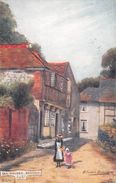 Angleterre - Isle Of Wight - Ile De Wight - Old Houses - Brading - Vieilles Maisons - Illustration Tuck - Angleterre