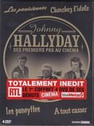 JOHNNY HALLYDAY  FILMS Des Années 60 - 4 DVD NEUFS - Concert En Muziek
