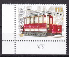 2001, Slowenien, Slovenia, Mi. 357, MNH **, 100 Jahre Straßenbahn In Ljubljana - Eslovenia