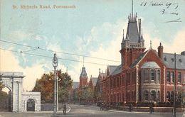 Angleterre - Portsmouth - St Michaels Road - Route De St Saint Michael 1905 - Portsmouth