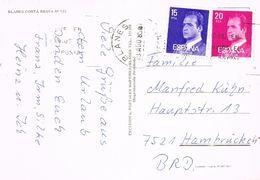 26670. Postal BLANES (Gerona) 1985. Vistas Varias - 1931-Hoy: 2ª República - ... Juan Carlos I