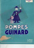92- SAINT CLOUD- PARIS-RARE CATALOGUE POMPES GUINARD- 1951- VUE GENERALE USINES DE CHATEAUROUX 36- AGRICULTURE - Documents Historiques