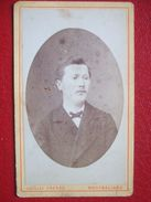 """25 - MONTBELIARD - PHOTO ANCIENNE  ENVIRON 1880...Portrait D'un Homme , Notable """" PHOTO: VUILLEY FRERES  """" RARE """" - Anciennes (Av. 1900)"""