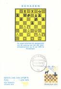 D32023 CARTE MAXIMUM CARD FD 1978 NETHERLANDS - CHESS SCHACH ECHECS SCHAKEN CP PHOTOCARD - Chess