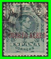 ESPAÑA    SELLO  ALFONSO XIII  AÑO 1920 TIPO  MEDALLÓN  HABILITADOS - Used Stamps