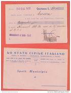 Cavarzere Quietanza 50 Lire 1932 - Azioni & Titoli