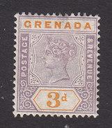 Grenada, Scott #43, Mint Hinged, Victoria, Issued 1895 - Grenada (...-1974)