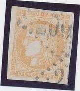 10 C Bistre N° 43 Signé Calves TB. - 1870 Emission De Bordeaux