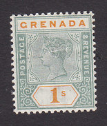 Grenada, Scott #46, Mint Hinged, Victoria, Issued 1895 - Grenada (...-1974)