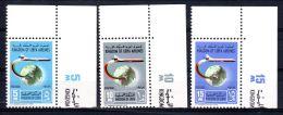 1-10-1965; Lignes Aériennes Rocales;  YT 282 - 284 Coin, Neuf **, Lot 49482 - Libia