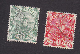Grenada, Scott #68-69, Used, Seal Of The Colony, Issued 1906 - Grenada (...-1974)