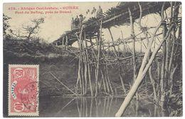 Cpa Afrique - Guinée - Pont Du Bafing, Près De Douné - Guinée