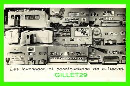 JOUETS - LES INVENTIONS ET CONSTRUCTION DE C. LOUVET - TRAINS - EXPOSITION CIRCULAIRE DE PROPAGANDE AERONAUTIQUE - Jeux Et Jouets