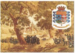 IO437  Militari 52° Brigata Fanteria D'Arresto Alpi - I Cacciatori Delle Alpi All'attacco Di S.Fermo 1859 - Regiments