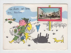 66 - LE BOULOU / LA CHASSE EST BONNE - ILLUSTRATION JEAN DE PREISSAC - Autres Communes