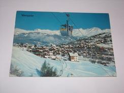 Vercorin.Télécabine Cret Du Midi Ravil Et Mont Bonvin. - VS Valais