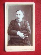 """52 - BOURONNE LES BAINS -   PHOTO ANCIENNE,  ENVIRON 1880.. Portrait D'un Homme, Notable.."""" - """" PHOTO: LAURENT """" RARE """" - Photos"""