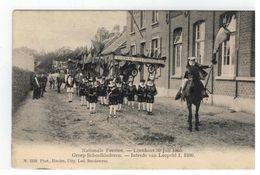 Loenhout: Nationale Feesten 30 Juli 1905. Groep Schoolkinderen - Intrede Van Leopold I , 1830 - Wuustwezel