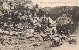 - Dpts Div.-ref-VV966- Pyrenees Orientales - Route Des Bouillouses - Le Malpas -  Voitures - Labouche N° 551 - - Autres Communes