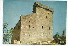 CP CHATEAUNEUF DU PAPE (Vaucluse) Ruines Cu Château Bati Au XIVe Siècle Par Les Papes D'Avignon - Chateauneuf Du Pape
