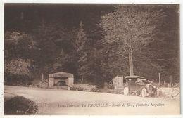 01 - La FAUCILLE - Route De Gex, Fontaine Napoléon - Gex