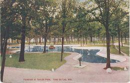 AK Fond Du Lac Fountain At Taylor Park A Oshkosh Appleton Sheboygan Rosendale Wisconsin WI United States USA - Oshkosh
