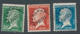BR-83: FRANCE: Lot Avec Préo NEUFS* N°66-67-68 Rouille Sur 67) - 1893-1947