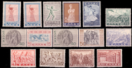 Grece 0422/34** Histoire  MNH - Grèce