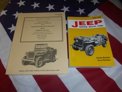 PROMO CADEAU NOEL : Le Best De La Jeep ( BECKER + TM 10.1349 ) WILLYS FORD USA - Véhicules