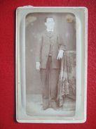 "88 - EPINAL -  PHOTO ANCIENNE,  ENVIRON 1880.. Portrait D'UN HOMME, NOTABLE..."" - "" PHOTO: BAUDY "" - "" RARE "" - Old (before 1900)"
