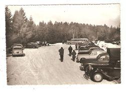 CPA 07 LE MORVAN LE HAUT FOLIN Station De Ski Le Parking Animation Voitures Années 1950/60 - Other Municipalities