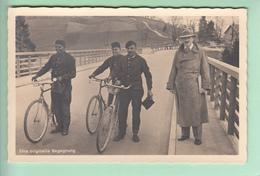 Adolf Hitler In Zivil + Drei Schornsteinfeger + Fahrrad # Fahrräder # Stempel Ammer-Hochbrücke # Photo-Hoffmann - Germany