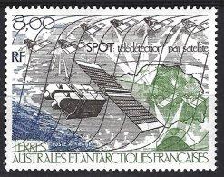 TAAF Yv  PA 96 **  Satellite Au Dessus De L'Antarctique - Poste Aérienne