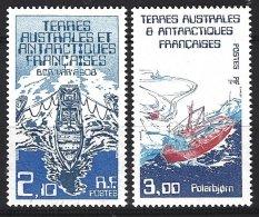 TAAF Yv 120/21 **  Navires De Liaison Avec La Mission  Antarctique - Terres Australes Et Antarctiques Françaises (TAAF)