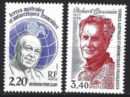 TAAF Yv  133 Père Lejay +134 Robert Gessain ** - Terres Australes Et Antarctiques Françaises (TAAF)