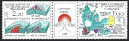 TAAF Yv 139A Triptyque **  Géologie En Antarctique - Terres Australes Et Antarctiques Françaises (TAAF)