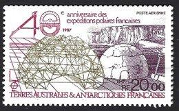 TAAF Yv PA 102 **  40e Anniversaire Des Expéditions Polaires - Poste Aérienne
