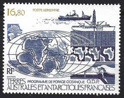 TAAF Yv PA 98 ** Programme De Forage Océanique - Poste Aérienne