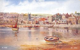 Angleterre - Cornwall - St Ives - View - Vue - St.Ives