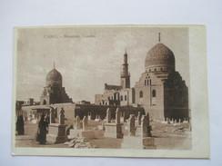 EGYPTE  -   LE CAIRE    -    MAMELUKS  TOUMBS     ANIME            TTB - Cairo