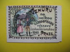 Vignette    Vzhuru Na Velkou Narodopisnou Vystavu Ceskoslovakou 1895  Praze - Cinderellas