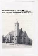 Hoeselt Parochie O.-L.-Vrouw Middelares Foto Op Karton - Hoeselt