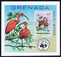 Grenade - WWF Oiseaux Sauvages BF 68 Oblit. - W.W.F.