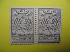 Vignette    Unio  Catalo- Valenciana - Erinnophilie