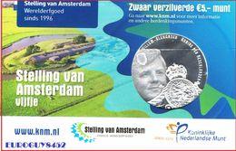 NEDERLAND - COINCARD 5 € 2017 UNC - STELLING VAN AMSTERDAM VIJFJE - Pays-Bas