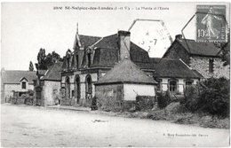 Saint Sulpice Des Landes Ille Vilaine Mairie école 1912 état Superbe - France