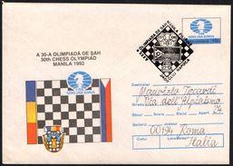 ROMANIA CLUJ NAPOCA 1992 - 30th CHESS OLYMPIAD MANILA 1992 - Scacchi