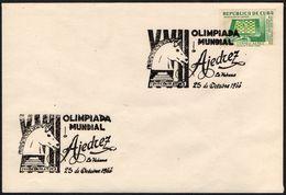 CUBA HAVANA 1966 - XVII CHESS OLYMPIAD - Scacchi