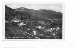 GENOVA - LE ANTICHE FORTIFICAZIONI VISTE DAL RIGHI 1934 - NV FP - Genova